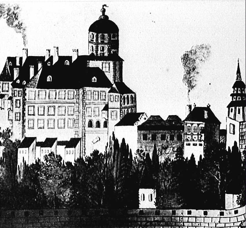 Budynki gospodarcze przed 1599