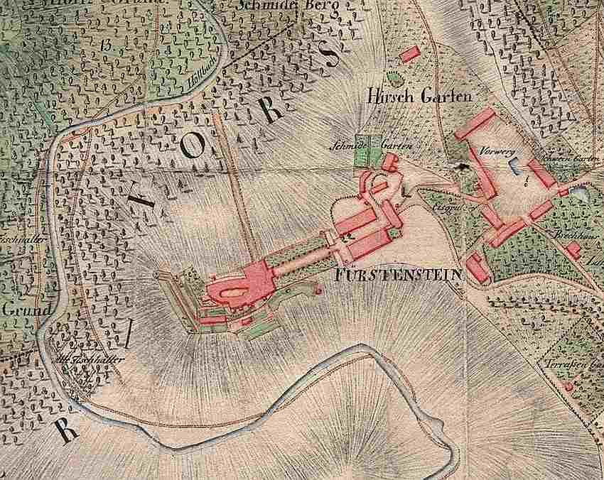 Przecinka zamek Książ