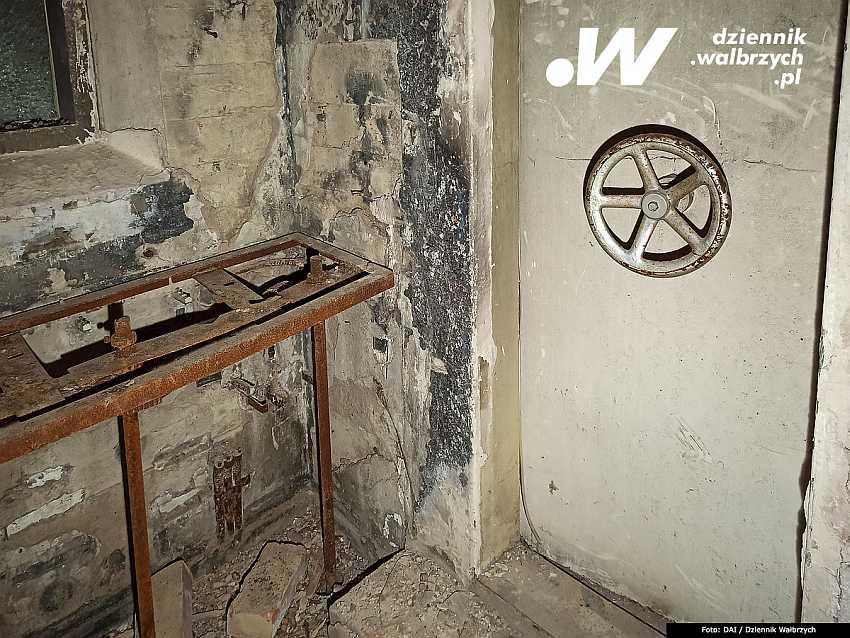 Fot 1. Wnętrza odbudowywanego po pożarze Zakładu Przyrodoleczniczego w Szczawnie-Zdroju