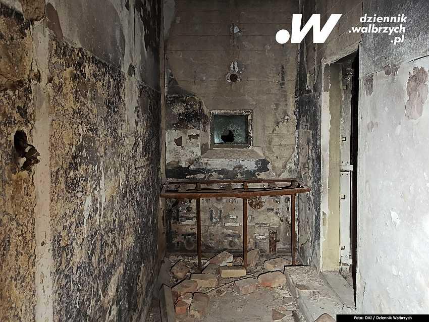 Fot 2. Wnętrza odbudowywanego po pożarze Zakładu Przyrodoleczniczego w Szczawnie-Zdroju