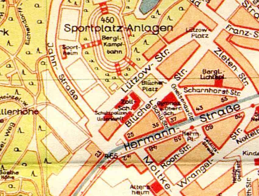 Zdj.4 Schutzpolizei Waldenburg mapa. Autor