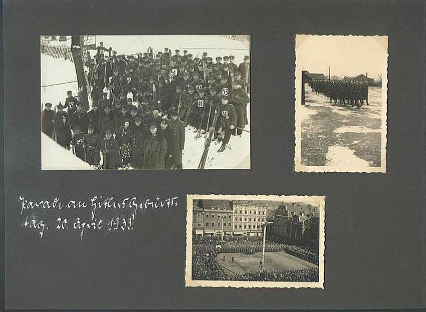 Zdj.13 Schutzpolizei Waldenburg album Foto. ebay.de
