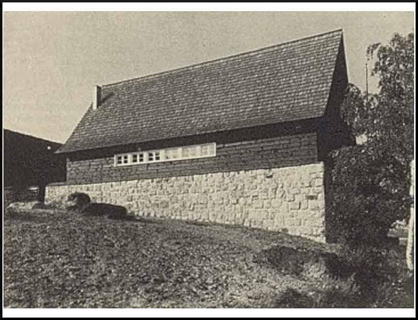 Zdj.5 Strzelnica Schutzpolizei Waldenburg stajnia