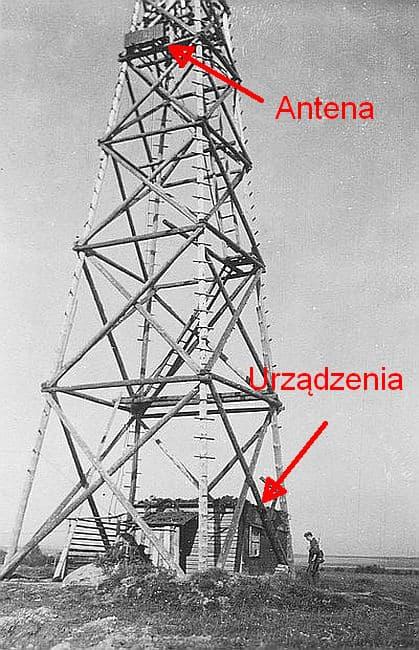 Fot 7. Maszt radiolinii Opis. Tomasz Jurek