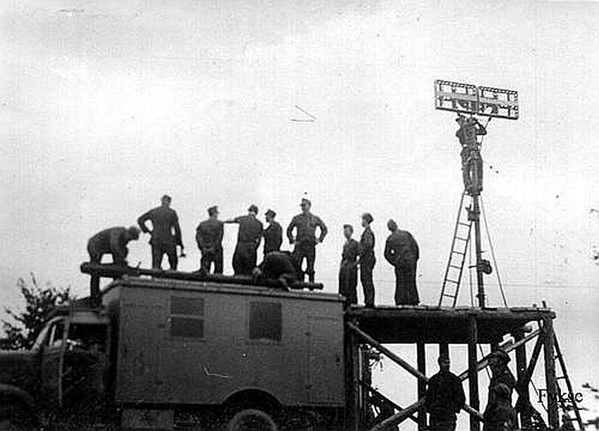 Fot 9. Montaż anteny