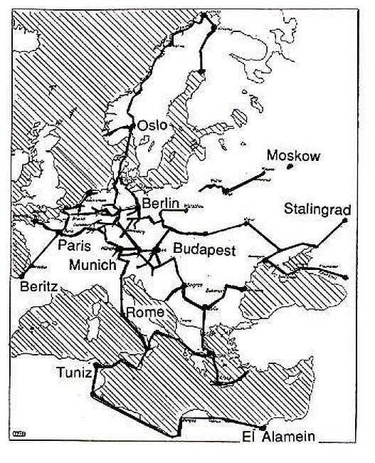 Fot 4. Sieć radiolini Zdj. www.radarworld.org