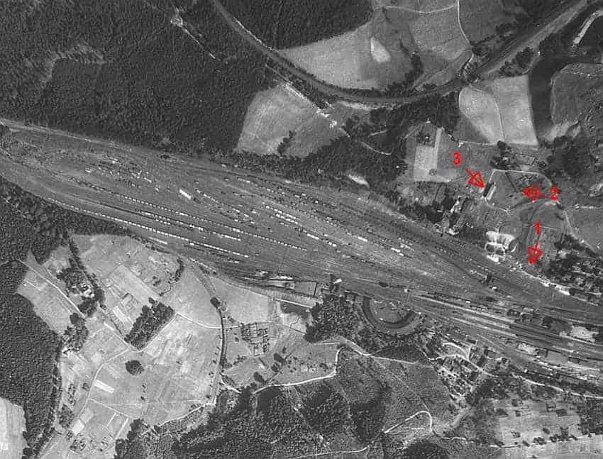 Zdj. 2 Walbrzych Dworzec Główny baraki. Zdj. Autor