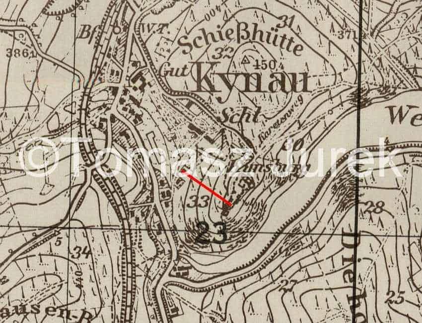Zdj.9 Tunel ucieczkowy Zamek Grodn