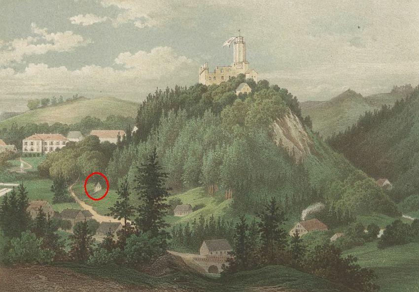 Zdj.6 Zamek Grodno i Mały Domek 2
