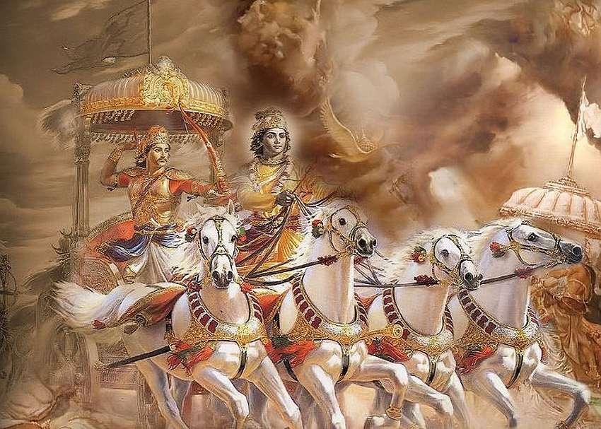 Fot 5. Mahabharata Ardżuna